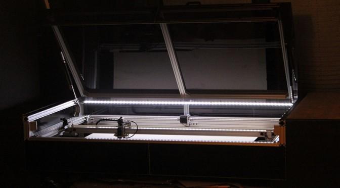 Unser Lasercutter