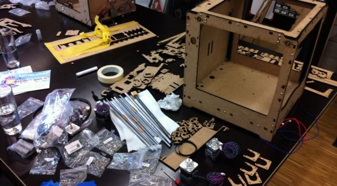 Zusammenbauworkshop 3D-Drucker