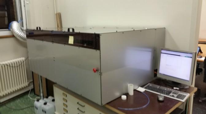 Lasercutter ab 28. April in Betrieb