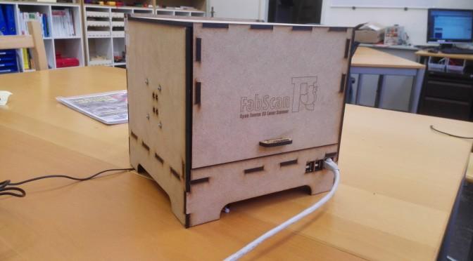 FabScan – 3D Scanner für kleine Objekte