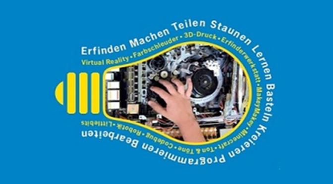 FabLab Winti am Makerday der Stadtbibliothek Winterthur am 12.11.16