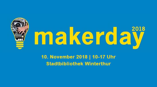 10. November: MakerDay in der Stadtbibliothek