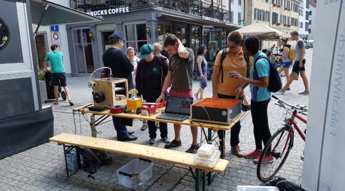 31. August 9-17 Uhr: Info-Stand in der Marktgasse (Ecke Graben)