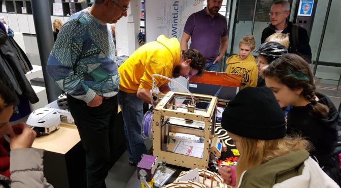 9. November: MakerDay in der Stadtbibliothek