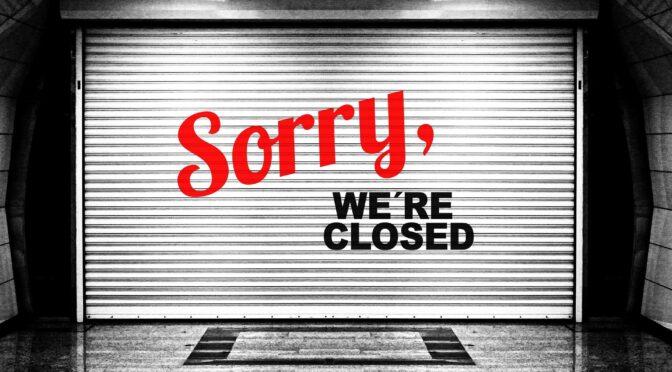 18.01.2021: Wegen Corona Massnahmen bis Ende Februar geschlossen